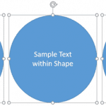 Align Text within Shapes and Text Boxes in PowerPoint