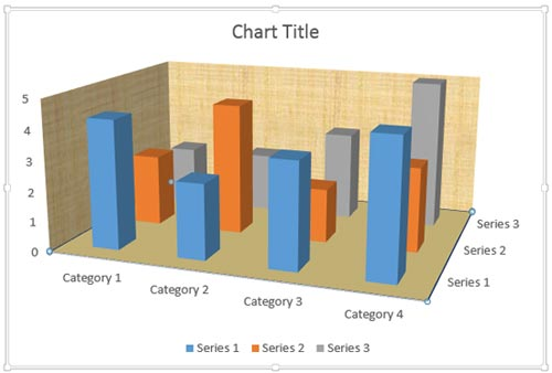 Format Walls and Floor of 3D Charts in PowerPoint