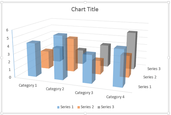 Make 3D Columns Semi-Transparent for Charts in PowerPoint