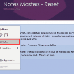 PowerPoint VBA Code: Reapply the Notes Master