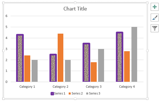 Changing Fill and Border of Chart Elements in PowerPoint