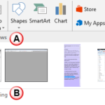 Inserting Screenshots in PowerPoint