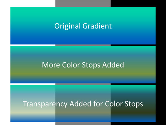 Gradient Stops in PowerPoint