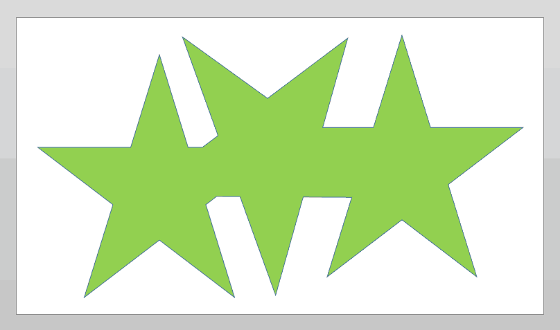 Shape Union Command in PowerPoint