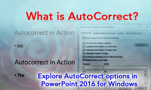 AutoCorrect in PowerPoint
