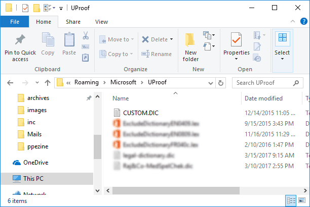 Sharing Custom Dictionaries in PowerPoint