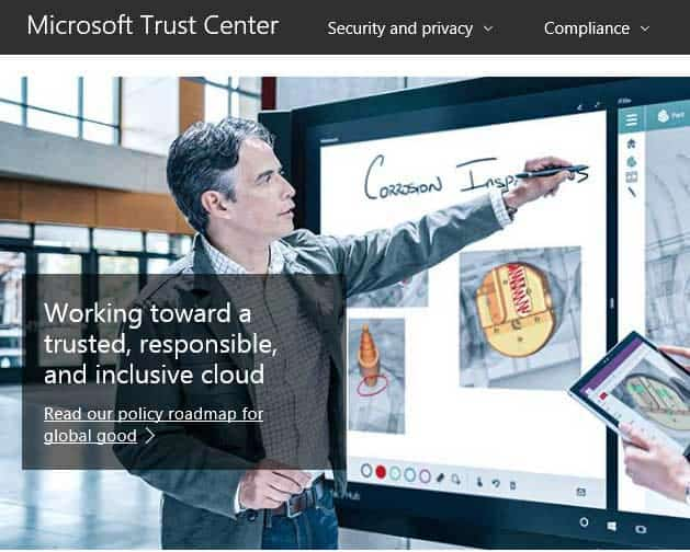 Trust Center in PowerPoint