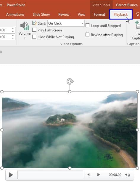 Videos: Playing Video Across Slides in PowerPoint