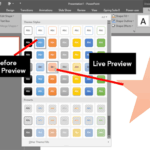Interface Overview: Live Preview in PowerPoint
