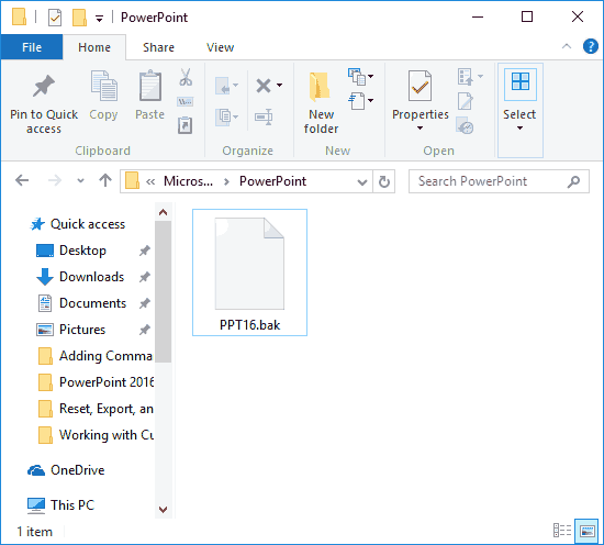 Removing Customizations from PCB Files in PowerPoint
