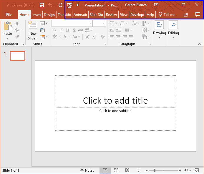 Interface Overview Office Background In Powerpoint Presentations