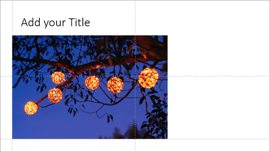 Working with Guides in PowerPoint