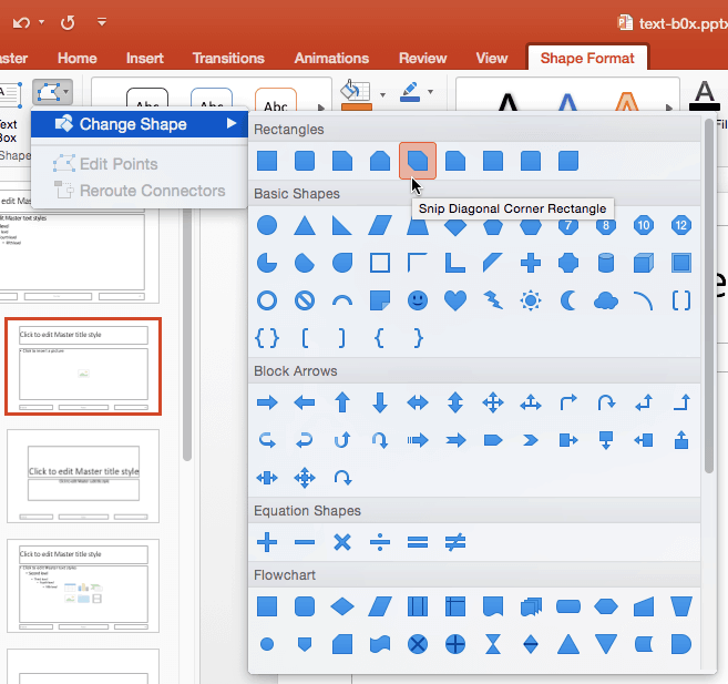 Formatting Picture Placeholders in PowerPoint