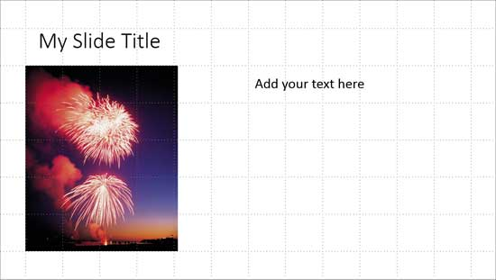 Working with Snap to Grid in PowerPoint