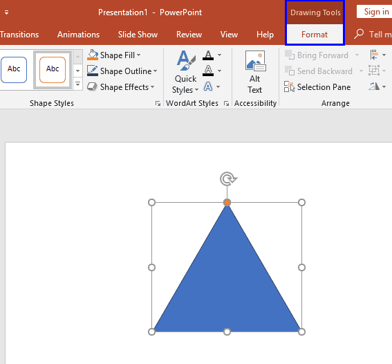 Change Default Shape Attributes in PowerPoint