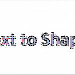 Merge Shapes: Convert Text to Shape by Intersecting in PowerPoint