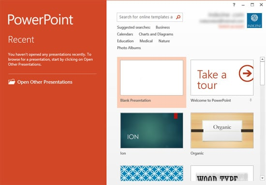 Changing Interface Color in PowerPoint