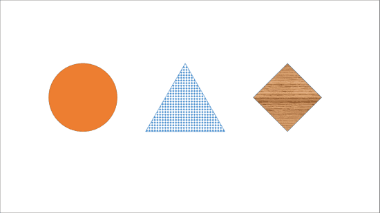 Fills for Shapes in PowerPoint