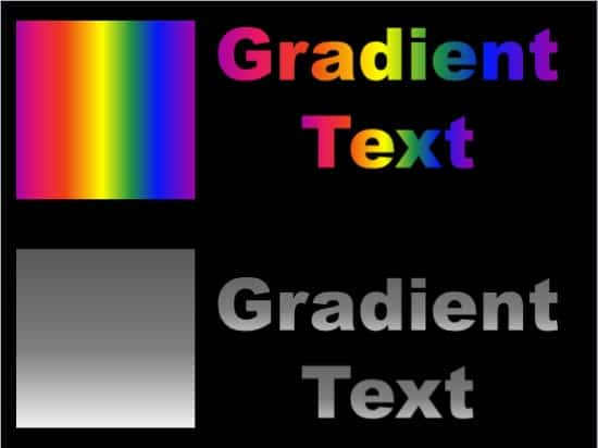 Gradient Fills for Text in PowerPoint