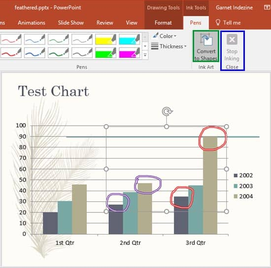 Edit Annotations with Ink Tools in PowerPoint
