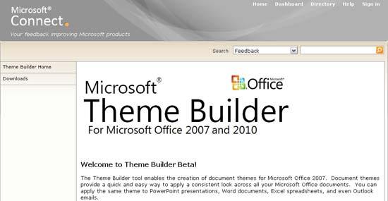 Theme Builder