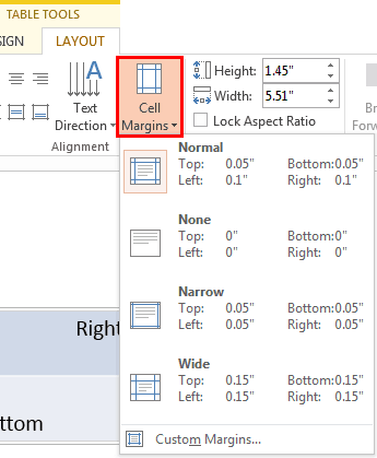 Text Alignment within Table Cells in PowerPoint
