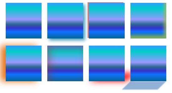 Advanced Shadow Effect Options