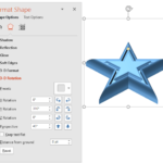 Shape Effects: 3D Rotation Options for Shapes in PowerPoint