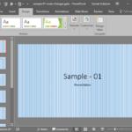 Fills for Slide Background: Pattern Fills for Slide Backgrounds in PowerPoint