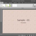 Texture Fills for Slide Backgrounds in PowerPoint