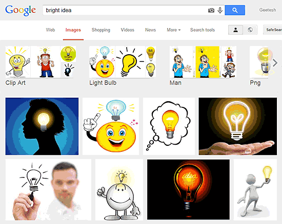Visual Clichés: Light Bulb Pictures